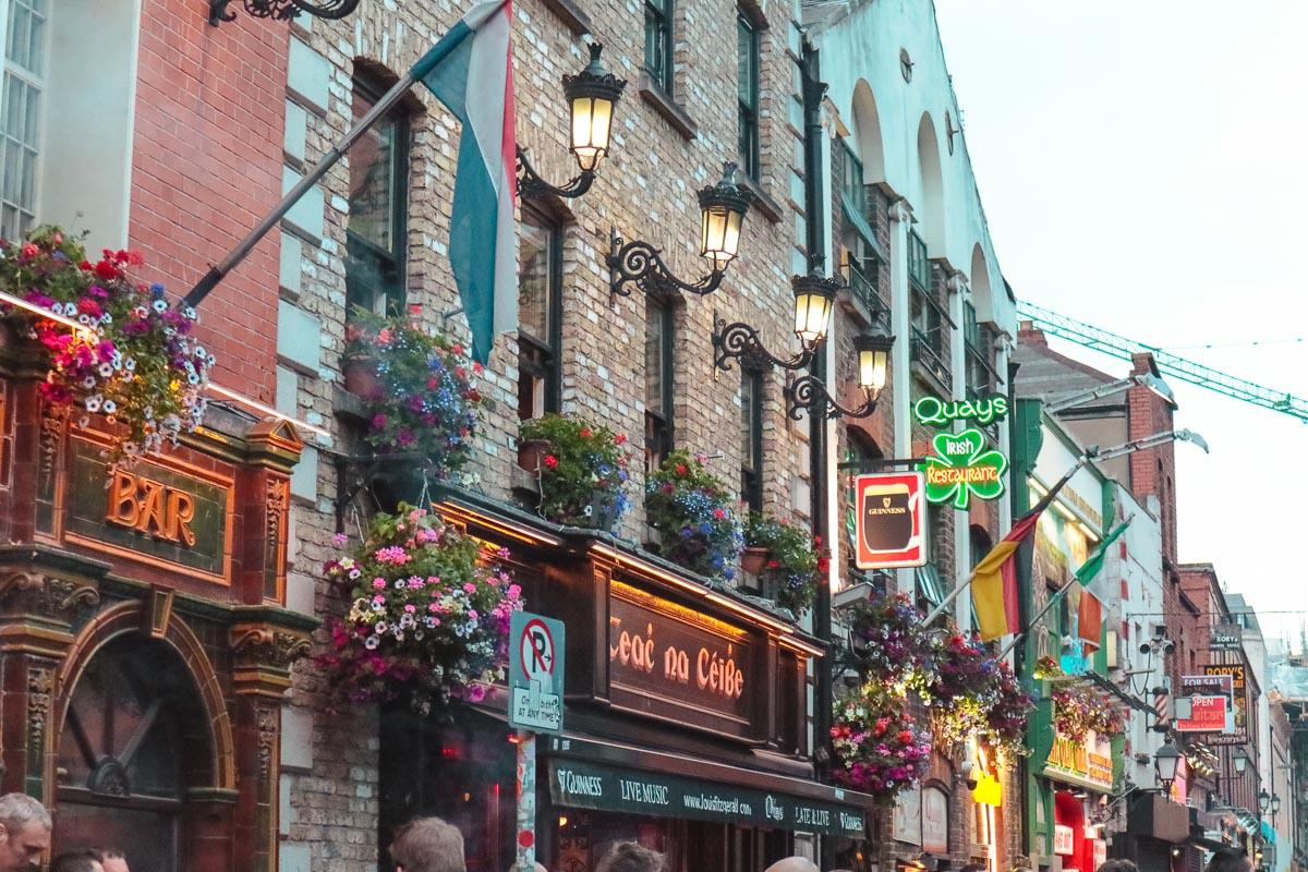 donde alojarse en Dublin