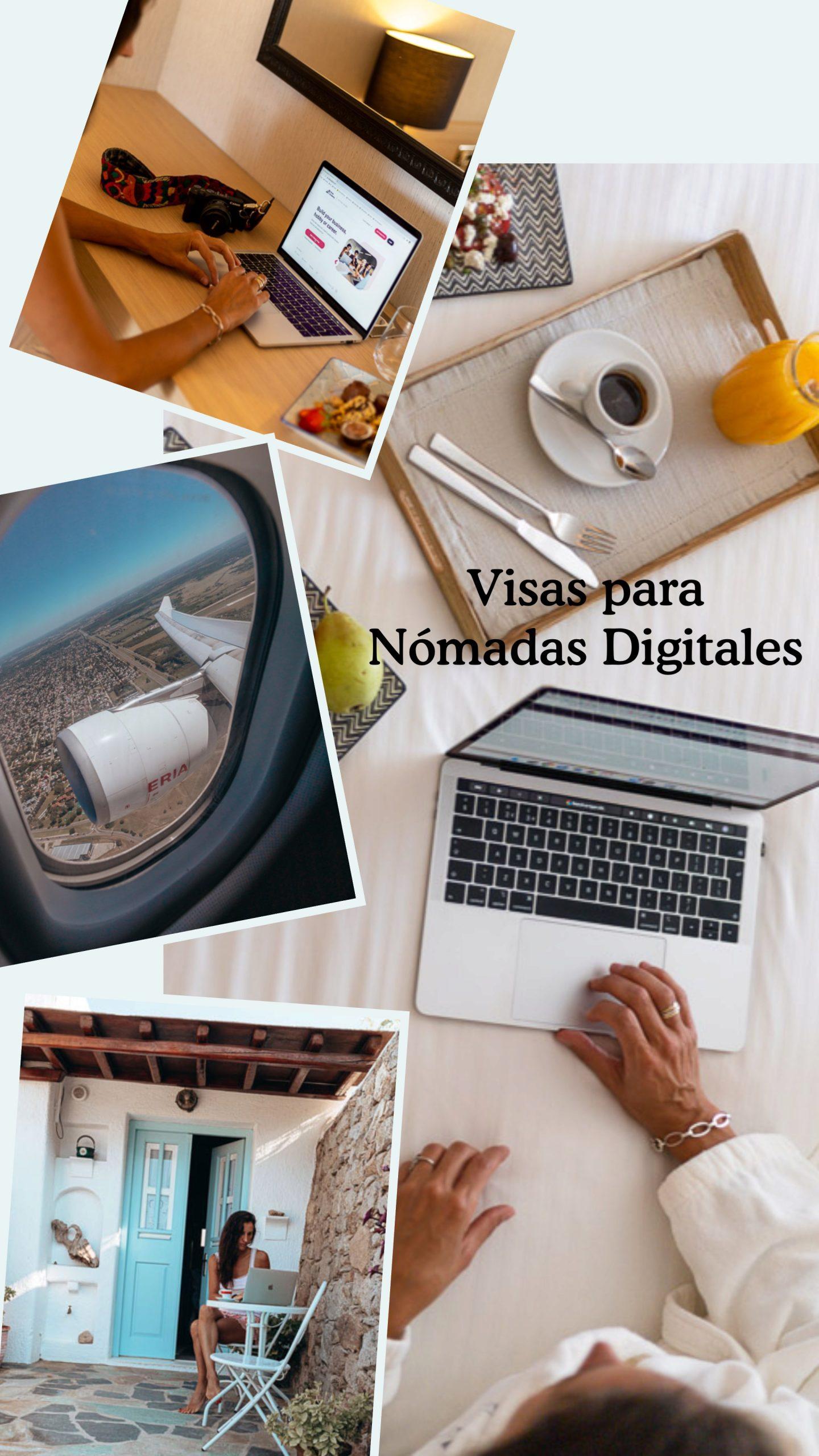 Visas para Nómades Digitales